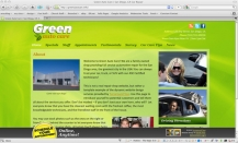 Green Auto Care - demo site